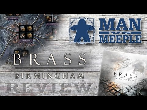 Brass: Birmingham (Roxley Games) Review by Man Vs Meeple