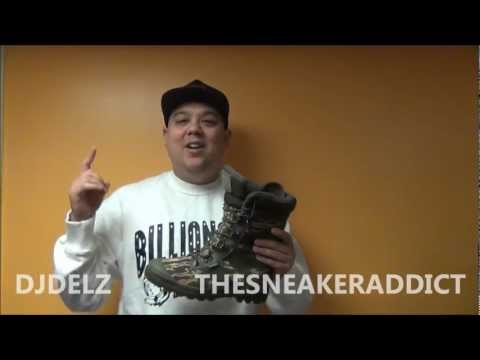 Billionaire Boys Club X Palladium Tiger Camo Pampa Thermal Boot Review With @DjDelz
