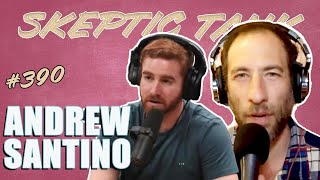 "Ari Shaffir's Skeptic Tank: #390 ""Gingie Whisker"" With Actor and Comedian Andrew Santino"