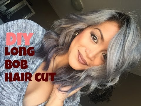 DIY Long Bob Haircut Tutorial