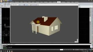 Cz.7/2 Domek pocztowca - Model dachu, kominy, poddasze