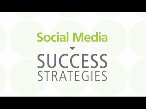 Success Strategies for Women Entrepreneurs: Social Media