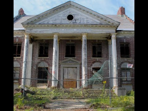 Abandoned Saratoga County Insane/Homestead Asylum Outside (Part 1)
