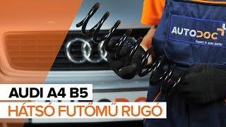 Alapvétő javítások Audi A4 b6 gépkocsin, amelyekről minden autósnak tudnia kell