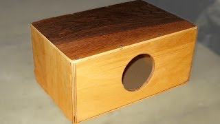 Make A Mini Cajon - Diy