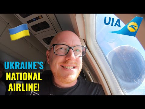 UKRAINE'S NATIONAL AIRLINE! Ukraine International Airlines Review 🇺🇦