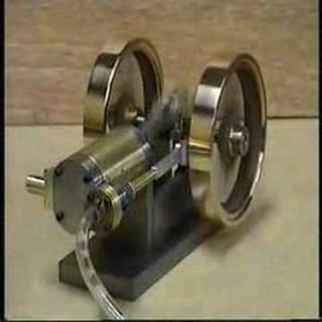 Horizontal 4 Stroke Compressed Air Engine Youtube