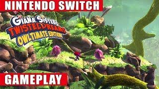 Giana Sisters: Twisted Dreams - Owltimate Edition Nintendo Switch Gameplay