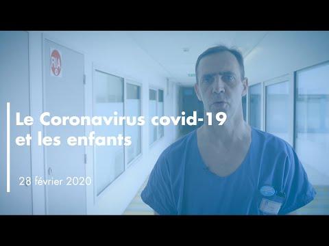 Le coronavirus Covid-19 et les enfants - Pr Yves Gillet / HCL