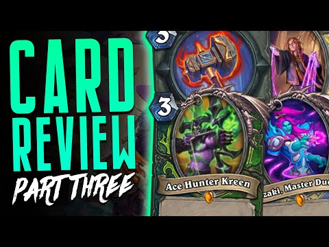 MORE LEGENDARIES, A NEW WEAPON & ANNOYING PRIEST CARDS - Scholomance Academy - Hearthstone Expansion