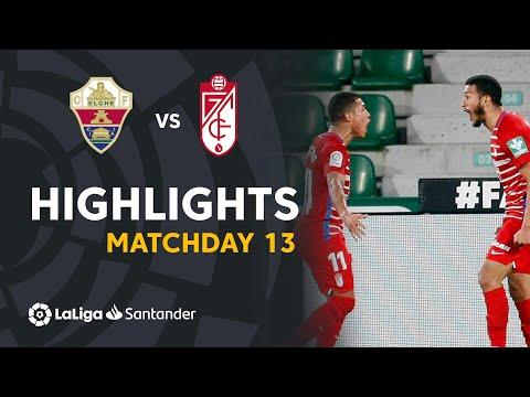 Elche Granada Goals And Highlights