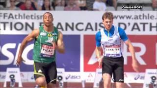 vicaut abat lemaitre sur 100m /2013