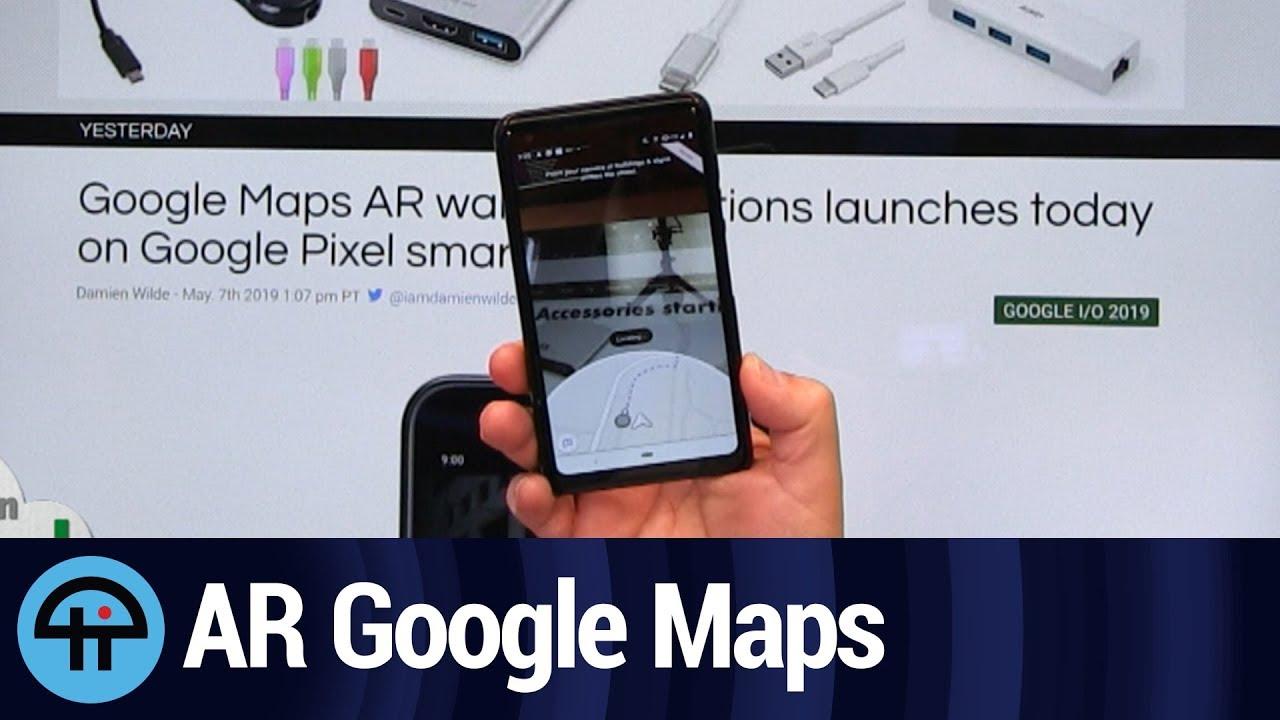 AR Walking Directions in Google Maps on bing maps walking directions, maps and directions, google world map, maps driving directions, map for directions, google mapss,