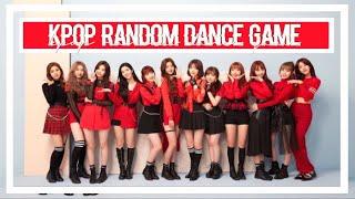 KPOP RANDOM DANCE GAME | 2018