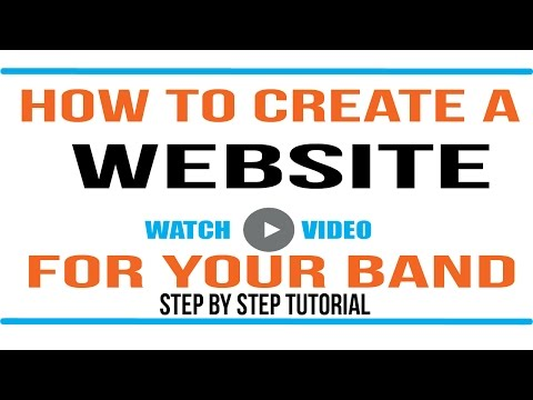 Wordpress Tutorial: How to make a website for your band