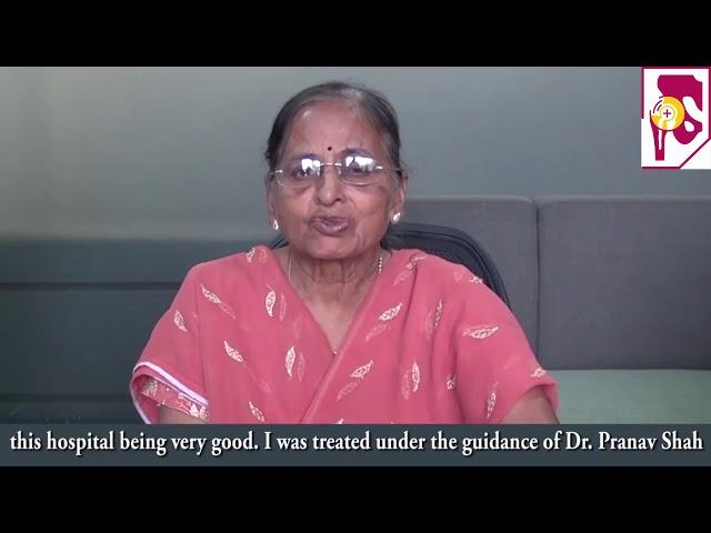 Dr Pranav Shah   Patient Zaver Shantilal Gadada