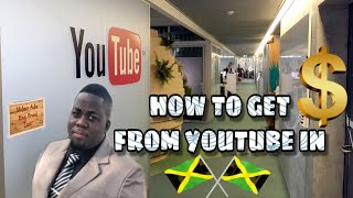 Vlog #1: HOW TO GET PAID FROM YOUTUBE IN JAMAICA