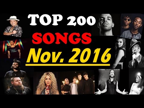 Top 200 Songs of November 2016 | Best Of The Month | ChartExpress