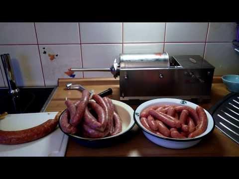 Колбасный шприц для дома. Готовим сосиски, купаты и колбасы в домашних условиях.