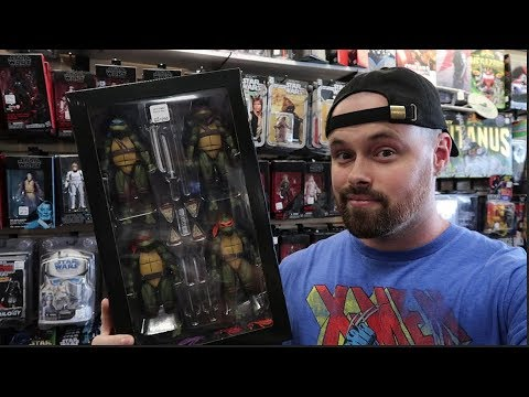 TOY HUNTING LOCAL TOY STORES  SDCC NECA TURTLE SET, NEW MARVEL LEGENDS, CHASE FUNKO POP AND MORE!