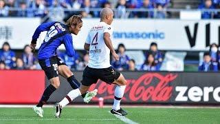 J1第33節 G大阪vs神戸@万博 37分 宇佐美 貴史(G大阪)