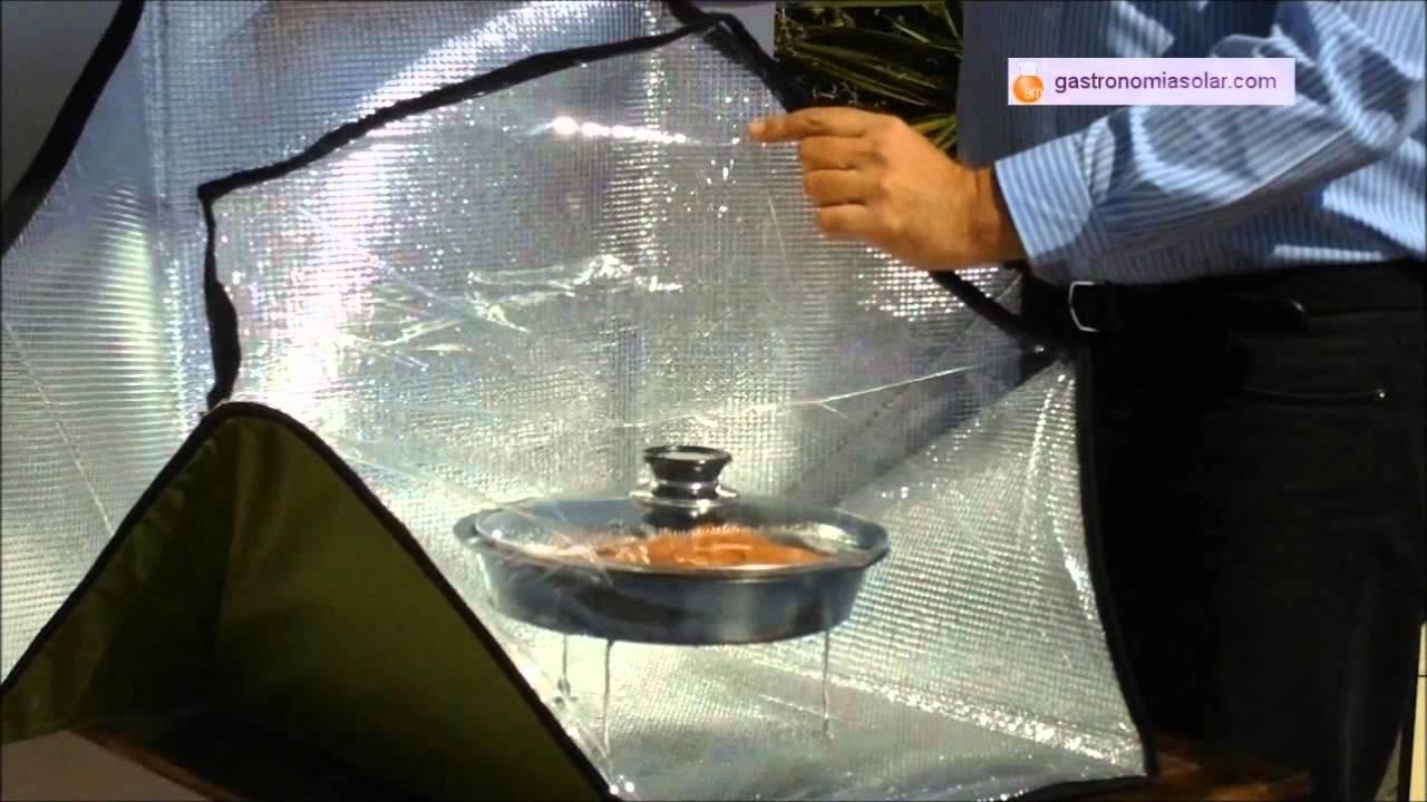 Cocina Solar Portatil Pez Espada Slow Food Youtube