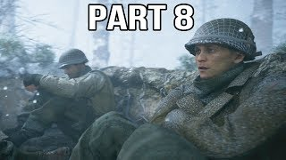 Call of Duty WW2 Gameplay Walkthrough Part 8 - Battle of the Bulge