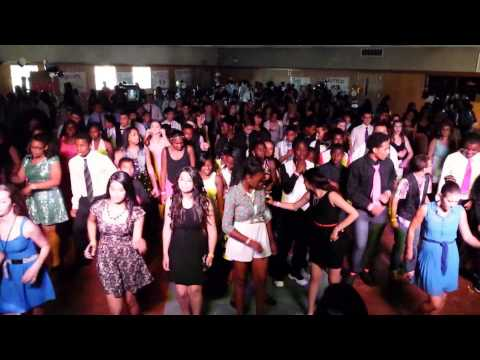 Elizabeth Pinkerton Middle School 8th Grade Promotion Dance - Cha-Cha Slide