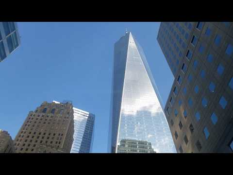 New York 4K S01E02 Manhattan April 2020, Freedom Tower, WTC