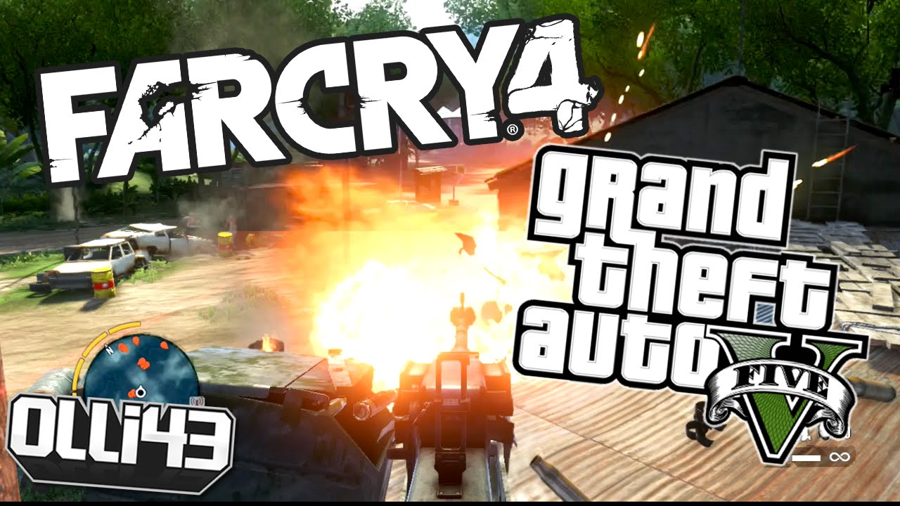 Far Cry 4 and GTA 5 Release Date Drama! - YouTube