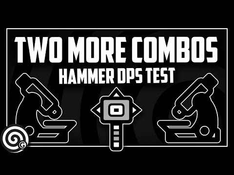 Two more combos - Hammer Moveset Test | Monster Hunter World thumbnail