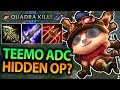 IS TEEMO ADC ACTUALLY HIDDEN OP?! ADC TEEMO SEASON 7 FULL GAME - League of Legends