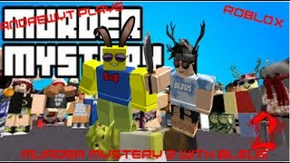 AndrewYT Plays Roblox #189 / Murder Mystery 2 / With Bleus!