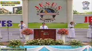 Please Watch!!! JMCIM Central Live Streaming of SUNDAY GENERAL WORSHIP | OCTOBER 21, 2018.