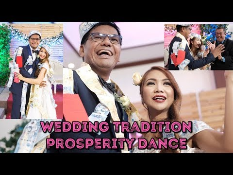 WEDDING TRADITION   PROSPERITY DANCE   MONEY DANCE   PHILIPPINE