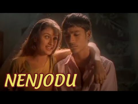 Nenjodu | காதல் கொண்டேன் | Kaadhal Kondein Video Songs | Dhanush Tamil Songs | Unnikrishnan Songs