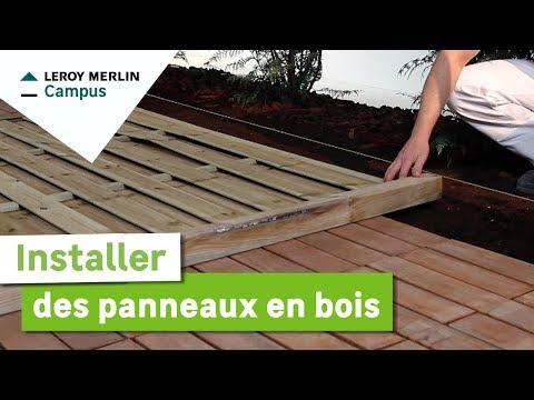 Lm vid os montage d 39 un abri de jardin leroy merlin - Comment installer un abri de jardin ...