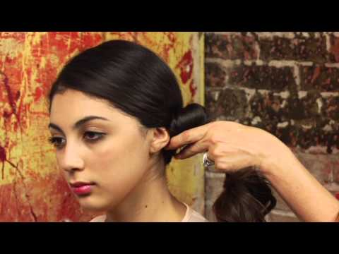 How to do low side bun hairstyles