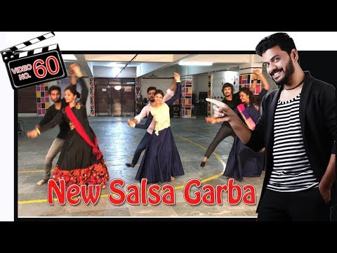 SALSA COUPLE GARBA DANCE STEPS VIDEO | NAVRATRI 2017 | Play Any Songs | Sathiya Garba International