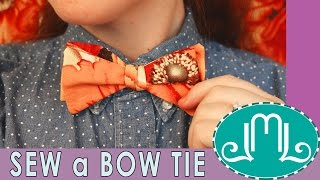 How to Sew a Bow Tie | Last Minute Laura