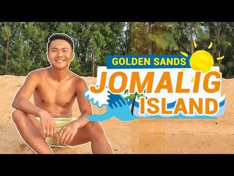 JOMALIG ISLAND 🌞 Golden Sand of Salibungot Beach (Quezon Province, Philippines) | TricksterzPH