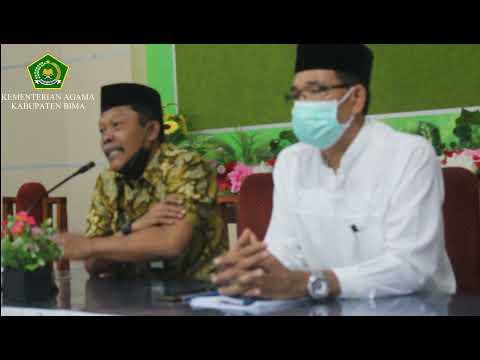 Seksi PHU Kemenag Kab. Bima Adakan Sosialisasi Pembatalan Pemberangkatan Haji 2021 M/1442 H