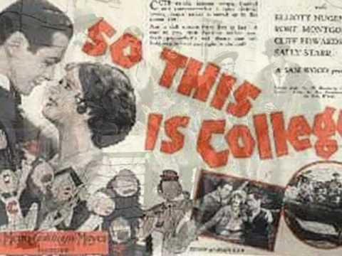 Crazy College 1920s: Harry Reser's Syncopators - Collegiate Sam, 1929