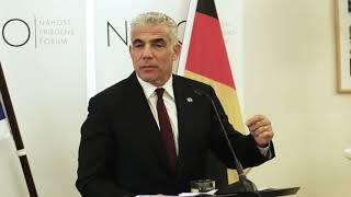 """יו""""ר יש עתיד, ח""""כ יאיר לפיד, בנאום באירוע לחברי NAFFO  בגרמניה 25.4.18"""
