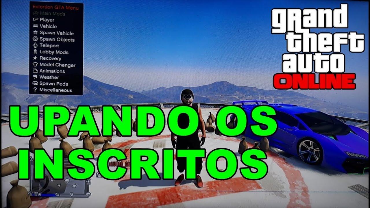 LIVE GTA 5 ONLINE PS3 UPANDO OS INSCRITOS