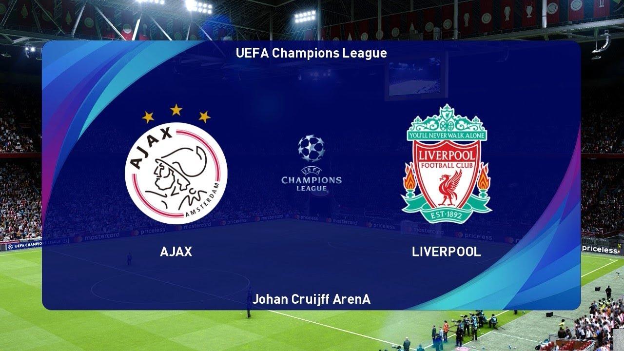PES 2021   AJAX vs LIVERPOOL   UEFA Champions League ...