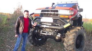 колёсный вездеход на базе ГАЗ-66 ТРАКТОЗАВР. ЭКСТРИМ клуб Нижний Новгород