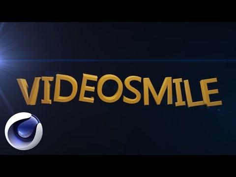 Анимация текста в Cinema 4D