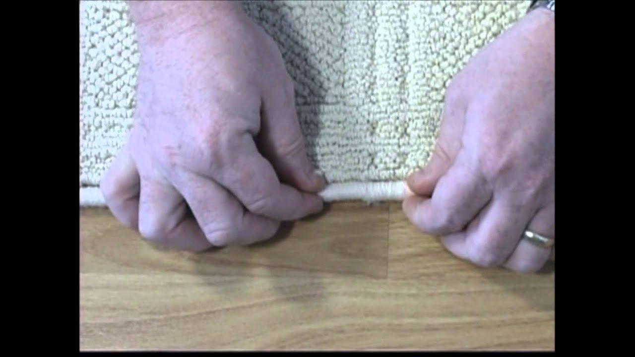 Inind Carpet Binding Instructions