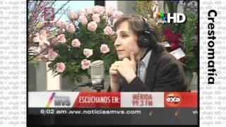 El regreso de Carmen Aristegui a MVS Noticias 1/3 (Lu 21/Fb/011) [HD]